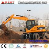 Máquina escavadora X120-L do rinoceronte/roda grande de Xiniu, o melhor preço, boa qualidade, venda quente