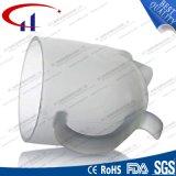 tazza dell'acqua di vetro glassato 270ml con i piedini (CHM8096)