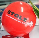 Ballon de plage gonflable avec logo de l'impression, cadeau promotionnel Ball