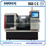 Máquina de reparación de la rueda de la aleación del diamante del regulador de la PC Awr28hpc