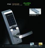 Serratura di portello biometrica sicura antica residenziale dell'impronta digitale