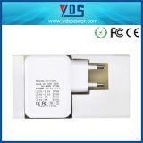 Заряжатель мобильного телефона стены EU портативный с USB 4 портов