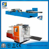 Linha de produção máquina de dobramento do tecido facial do tecido facial e máquina de embalagem