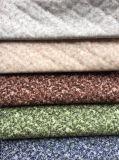 Velours de tricotage estampé par polyester avec le type gravant en relief (PR042)