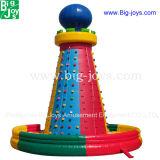 Montagne s'élevante de poulpe gonflable, jeux s'élevants gonflables de sport de mur (BJ-SP05)
