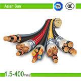 Aislamiento de PVC de color de alta calidad Cable eléctrico