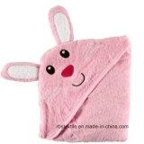 Полотенце ванны хлопка низкой цены с капюшоном для младенца/малышей