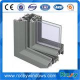 Windows와 문 /Aluminum를 위한 힘 코팅 알루미늄 밀어남 단면도