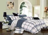 Afgedrukt naar huis Geplaatst Beddegoed/de Reeks van het Beddegoed van de Textiel van het Hotel 4PCS