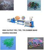 Mit hohem Ausschuss TPU TPR Gummiband-Plastikextruder-Maschine
