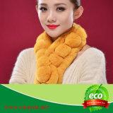 Таким образом кролик меховые шарфы/ втулку Сделано в Китае