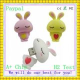3D Kitty PVC USB Cartoon disco flash USB (CG-675)