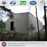 Sinoacmeのプレハブの軽い鉄骨フレームの建物