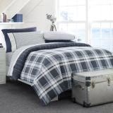Het nieuwe TextielKatoen van 100%/PolyBeddegoed Van uitstekende kwaliteit die voor Hotel/Home wordt geplaatst