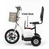 Scooter électrique de grosse roue du pneu 3 pour des adultes