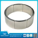 Дуги кольца цилиндра блока диска редкой земли магнит NdFeB постоянной промышленный