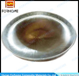 Aço SA516gr. 60 + aço inoxidável 304 revestido Elipsoidal 2: 1 cabeça