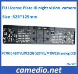 OEM HD Waterproof Color EU License Plate Frame Reverse Camera