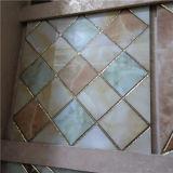 Bunte Onyx-Raute-Keramikziegel für Wand-besten Verkauf