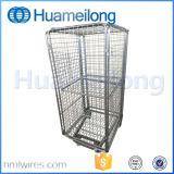 Изолированный стальной контейнер крена хранения груза ячеистой сети