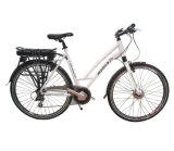 Bici elettrica della E-Bicicletta elettrica urbana del motorino di modo con la Li-Batteria posteriore 36V 48V della cremagliera
