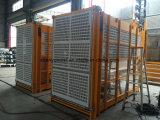 Ascenseur de construction de la crémaillère Sc100/100 et du pignon pour Passangers et matériaux