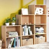 Armário de armazenamento em madeira de escritório de grande capacidade