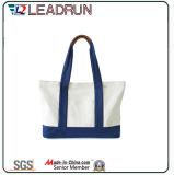 Sacchetto di acquisto non tessuto di carta della maniglia della tela di canapa del cotone del cuoio del sacchetto di acquisto del regalo (X035)