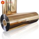 Película de estratificação térmica metalizada ouro