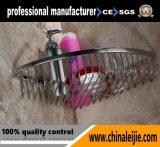 중국에서 목욕탕 부속품의 스테인리스 구석 바구니