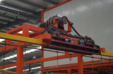 Ligne d'enduit électrostatique automatique de poudre pour des produits en métal