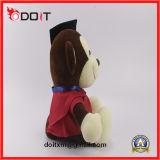 Stuk speelgoed van de Aap van de Graduatie van de Aap van de Arts van de Gift van de graduatie het Pluche Gevulde
