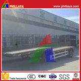 Phillaya feitas 1-2 Eixos 20-40 toneladas Lowbed Semitrailer Caminhão
