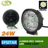 4.5Inch 24W Epistar LED IP67 pour le camion des feux de travail