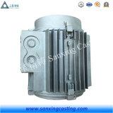 中国はサンドブラストのアルミニウムモーターフレームをカスタマイズした