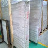 Мрамор вены дешевого высокого качества серый деревянный