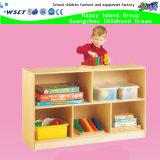 Adorável Escola de madeira Armários de coleta do bloco de gabinete para as crianças desempenham o papel de madeira (HB-03902)
