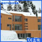 Comitato composito di alluminio di serie naturale utilizzato nella zona fredda (ACP)