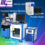 machine de marquage au laser CO2 CNC, graver au laser Machine non métalliques Hsco2-100W
