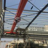 1000 Workshop van de Vervaardiging van het Metaal van de Structuur van het Staal van vierkante Meters de Stabiele met Kraan