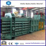Máquina de empacotamento de papel hidráulico semiautomático para centro de reciclagem