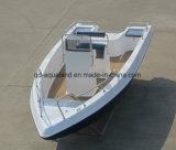 Barco de barco de pesca da fibra de vidro de Aqualand 21feet 6.3m/motor da velocidade/barco prazer dos esportes (205c)
