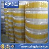 Mangueira de jardim flexível reforçada trançada PVC colorida