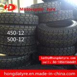 Lieferant ECE-Bescheinigungs-niedriger Preis-chinesischer Motorrad-Reifen 450-12 500-12 der Fabrik-ISO9001