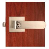 Коммерчески замок ручки рукоятки двери обязанности Heave с квадратной розеткой в никеле сатинировки