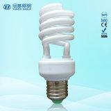Halbe Glühlampe der Spirale-CFL mit Preishangzhou-Leuchtstoffgefäß-hellen Vorrichtungen