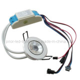 RGB LED Downlight 2.7 '' rund