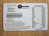 Дешевле Cr80 стандартный размер бумаги вызовов/PVC карт