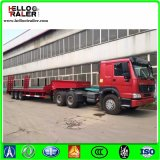 De tri-As van de Machines van de bouw Aanhangwagen van het Vervoer van 60 Ton de Lage
