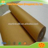 Überzogenes Plastikbraunes Packpapier mit hochfestem